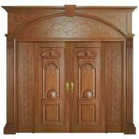 成都林海木业高档原木烤漆套装门