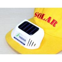 太阳能太阳帽
