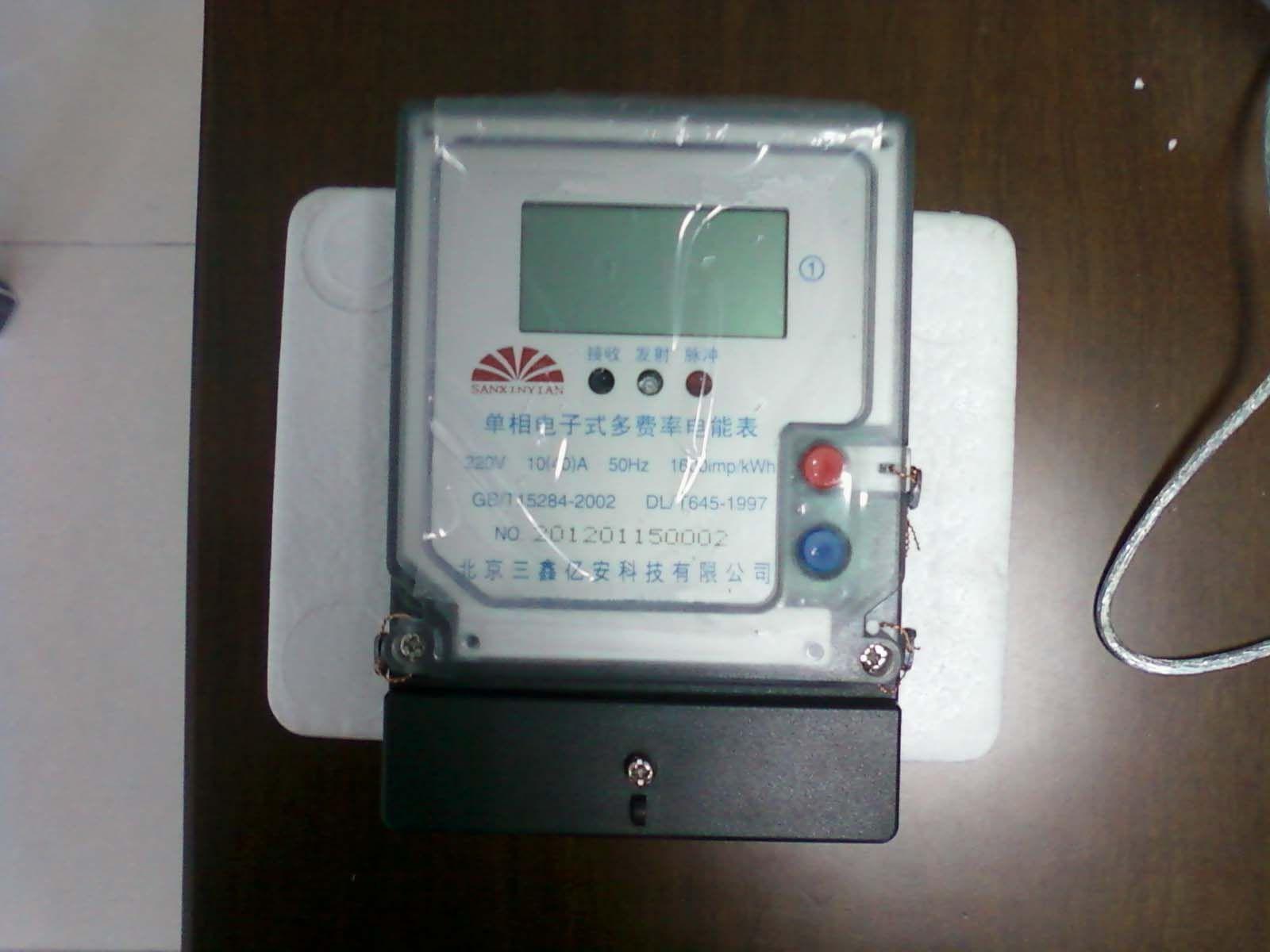 农村电表接线图解