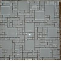 超白玻蒙砂玻璃马赛克