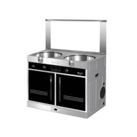 [装修]做开放式厨房 选择灶具 美大集成环保灶 美大灶