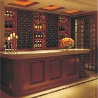 成都普斯顿定制家具-实木酒柜