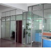 单玻璃隔墙 铝合金隔断 隔音屏风高隔断  半成品