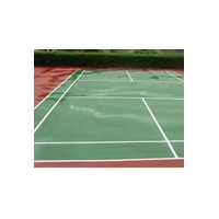 环氧地坪-羽毛球场运动地坪