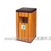 北京设计研发亚展牌LW-043喷漆铁板垃圾桶塑料垃圾桶