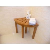 柚木浴室凳 洗澡凳 浴室垫 防滑垫 浴室家居