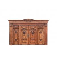 成都得木福实木门帮助家装客户选择优质木门