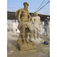 大理石石雕人物大力士