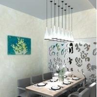 布鲁斯特FPK00295现代抽象异型方块背景墙纸壁纸
