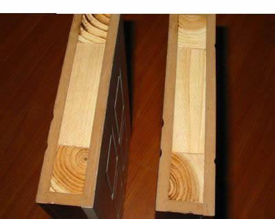 实木工艺门小样