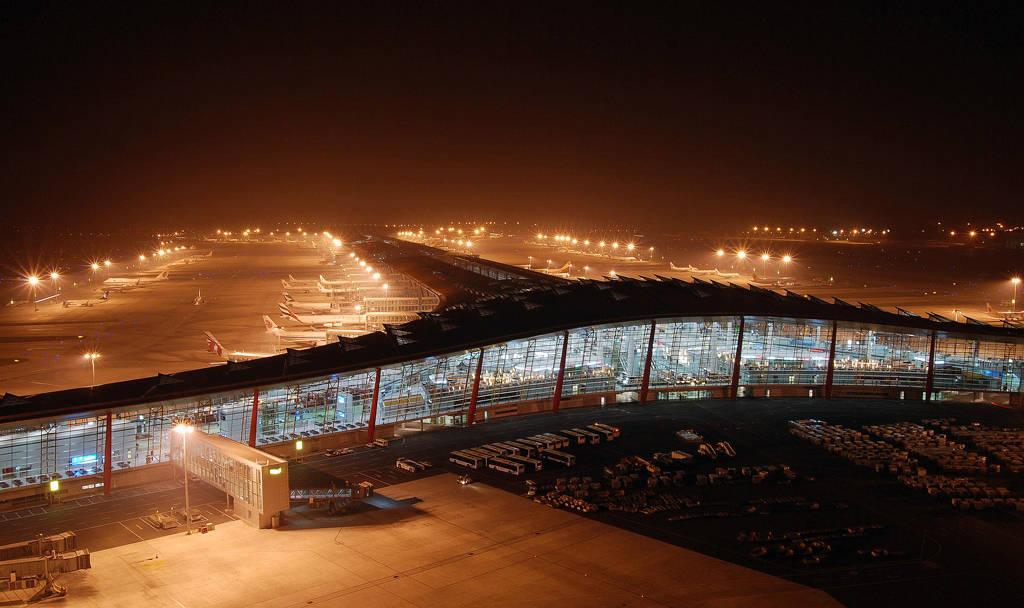首都国际机场t3航站楼