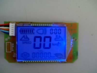 电动车液晶仪表控制板