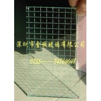 透明铁线片(夹丝玻璃)