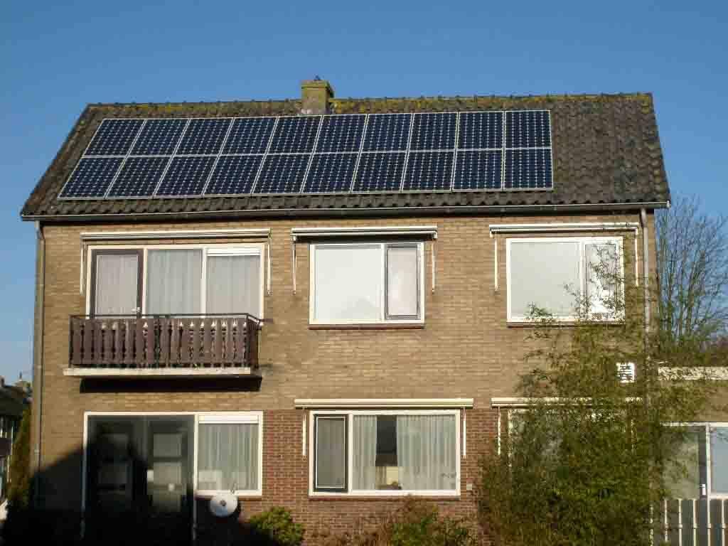 屋顶太阳能装修效果图