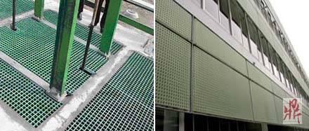 玻璃钢幕墙装饰格栅图片