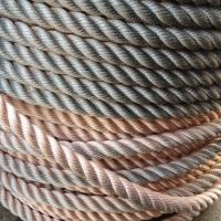 高空作业锦纶绳,外墙清洗作业安全保险绳