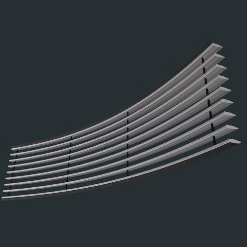 南京集成带-元光德立面弧形集成带-GM2-HLR12