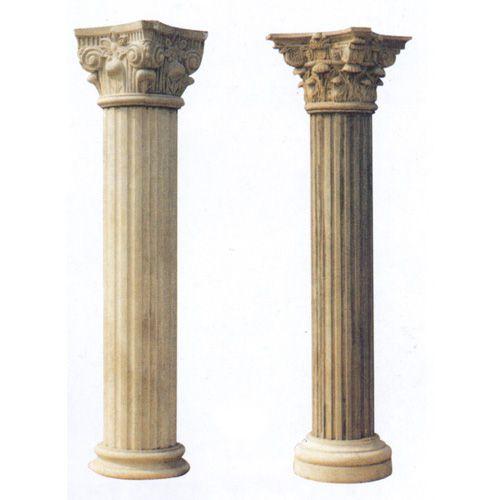 欧式石柱矢量图