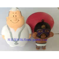 PU发泡玩具 PU发泡制品 PU自结皮发泡成型