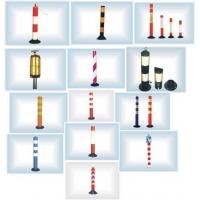 上海分道柱 分道柱 橡胶分道柱 钢管分道柱 上海泓辰提供