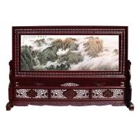中国彩雕屏风,红木屏风,大厅屏风,中式屏风,落地屏风