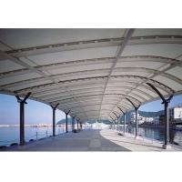 膜结构遮阳走廊、休闲漫步道