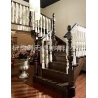 杭州【精選】鋼木樓梯 杭州家用旋樓梯 杭州室內實木樓梯扶手