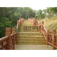 仿木護欄,仿木棧道,棧道欄桿,園林護欄,景觀護欄,隔離護欄,