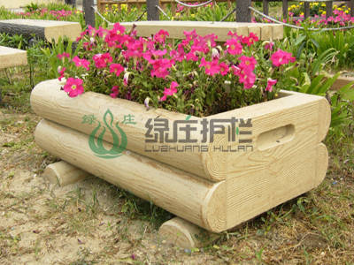 仿木,花盆容器,仿木小品