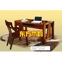 西安实木写字台|西安实木书桌定制