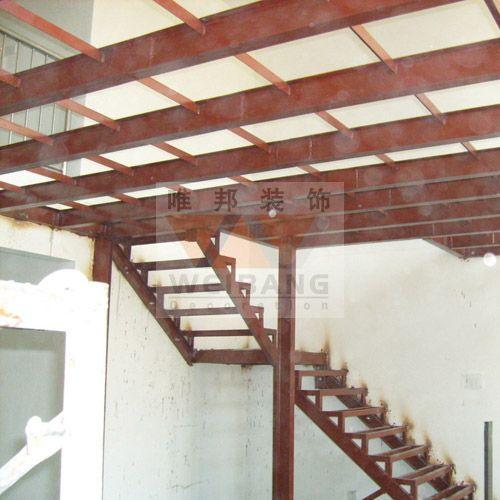 南京钢结构平台,钢隔层,玻璃隔断