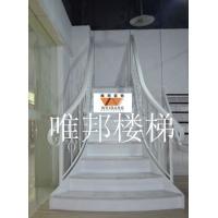 南京钢构大理石楼梯-唯邦楼梯