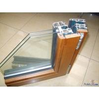 直销高档木包铝门窗,意式木包铝,别墅铝木门窗