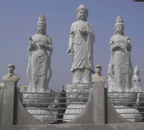石头塑像场景设计