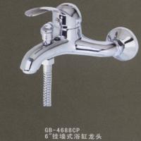 """高宝卫浴-龙头-46系列-6""""挂墙式浴缸龙头"""