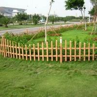 防腐木栅栏护栏|陕西西安豪门防腐木业