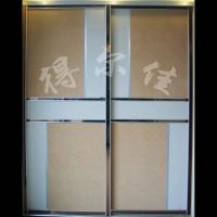 衣柜门DEJ-058|陕西西安衣柜门 推拉门吊趟门
