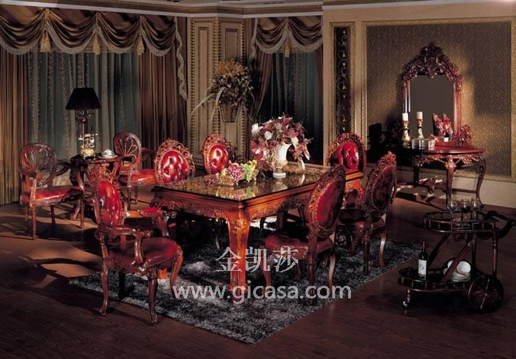 古典家具厂-中国十大实木家具-顺德实木沙发-欧式