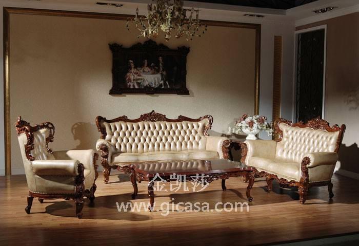 欧式家装效果图-实木沙发价格-北京实木家具厂