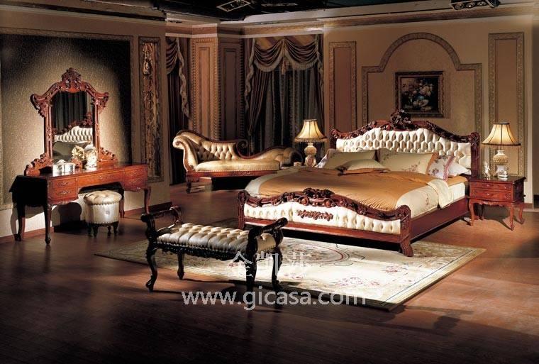 实木家具品牌介绍-实木沙发图片-金凯莎欧式家具