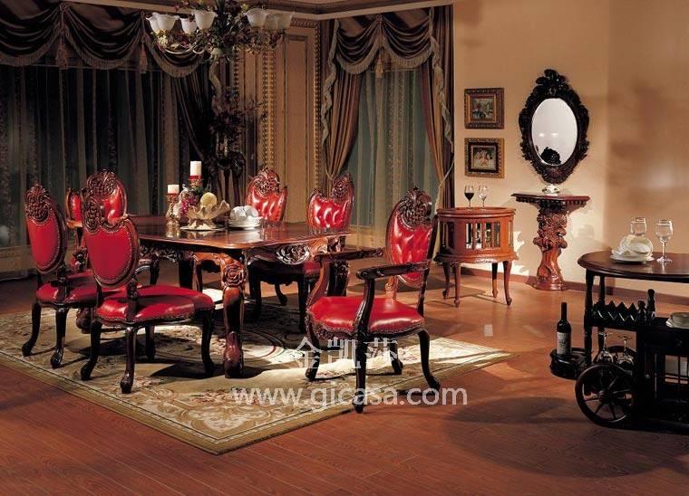 欧式田园风格家具-欧式新古典家具-欧式家具-金凯莎
