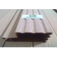 贴实木皮包覆铝材罗马柱