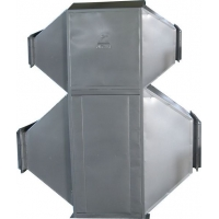 广州擎立专业生产陶瓷专用空气散热器,热回收器,不锈钢散热器。