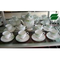 精品博山陶瓷-骨质瓷茶具