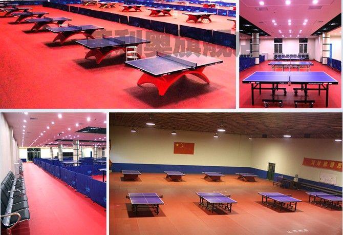 高档乒乓球塑胶地板专业宝石纹塑胶地板天津运动地胶安装