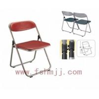 折叠椅,休闲折叠椅,皮面折叠椅,广东鸿名五金家具厂工厂价格.