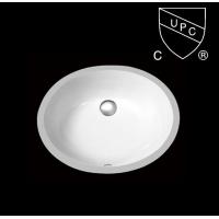 美国UPC认证陶瓷台盆/加拿大CSA认证洗脸盆SN005