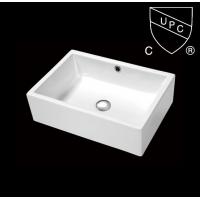 美国CUPC认证陶瓷洗手盆SN104