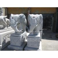 供应大典石雕古建寺庙系列-大象