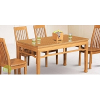 竹制餐桌椅